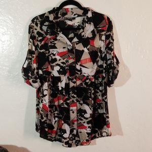 Style & Co. Women 1X Blouse